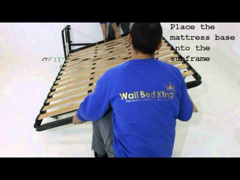 Classic Wall bed assembly and installation