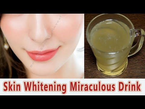Skin Whitening Drink|Get Fair Skin With This Drink | Magical Drink For Skin Lightening