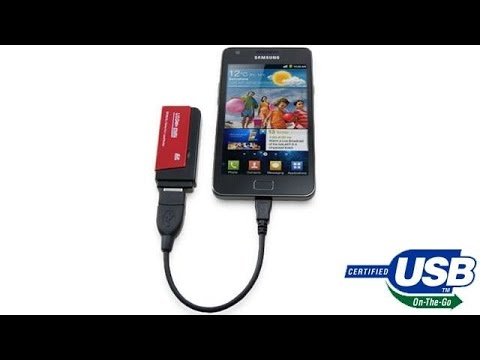 Transfer Files From USB Flash To Any Smartphone Without PC