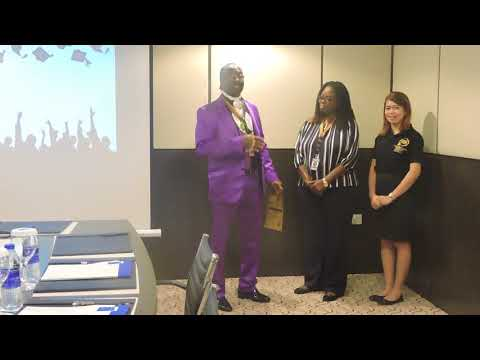 Award Ceremony HRODC Postgraduate Training Institute Nunana Lawson Diploma Postgraduate Conveyancing