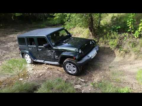 My Jeep JKU on a small creek
