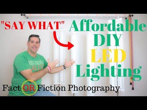 DIY LED PHOTOGRAPHY LIGHTS