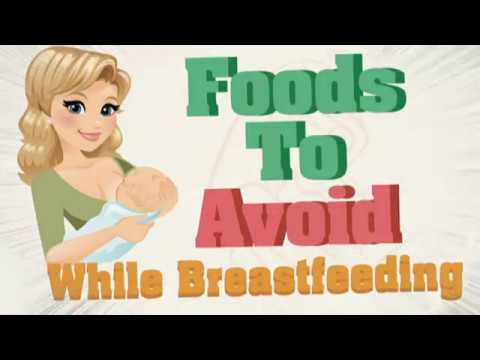 20 Foods to avoid while breastfeeding