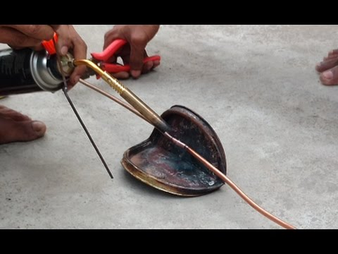 How to Join & Braze Copper Pipe of AC | Air Conditioner Gas Pipe Welding (Brazing) at Home