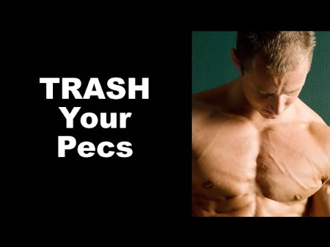 TRASH Your Pecs With Lateral-Stepping Low Pulley Push-Ups