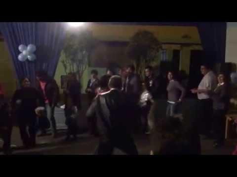 Dancing on the street Peru