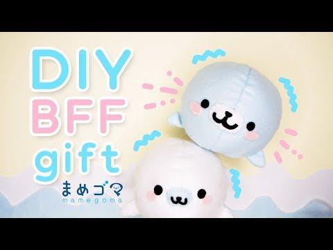 DIY BFF GIFT | MAMEGOMA Plushie | CUTE & EASY DIY PROJECT!