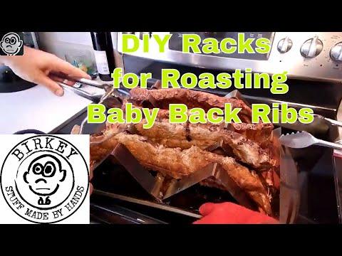 DIY Racks to Roast Ribs in the Oven