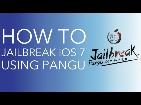 Jailbreak iOS 7.1.x with Pangu on Mac