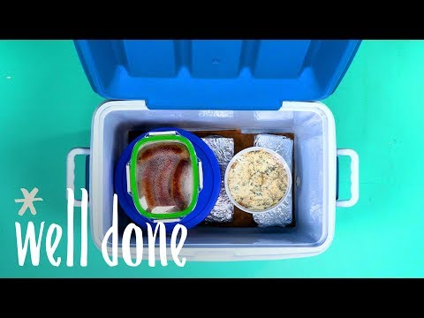 How To Turn Your Cooler Into A Warmer | Food Hacks | Well Done