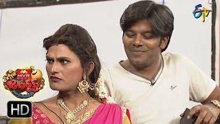 Sudigaali Sudheer Performance | Extra Jabardsth | 13th January 2017| ETV  Telugu