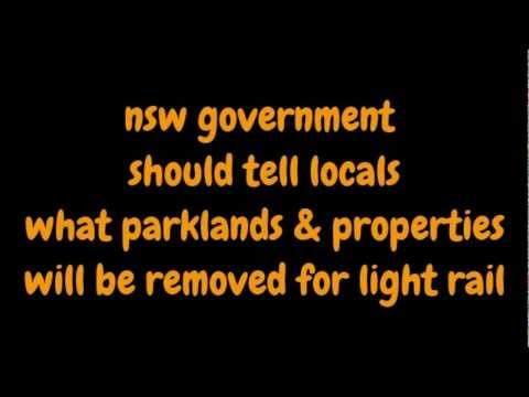 Surry Hills light rail route may remove parklands and apartments