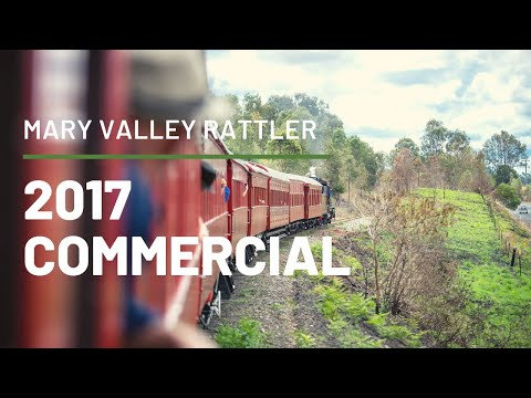 The Mary Valley Rattler Back on Track December 2017