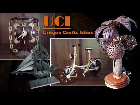Best out of Waste Crafts Ideas – DIY Crafts Ideas With Coconut Shell