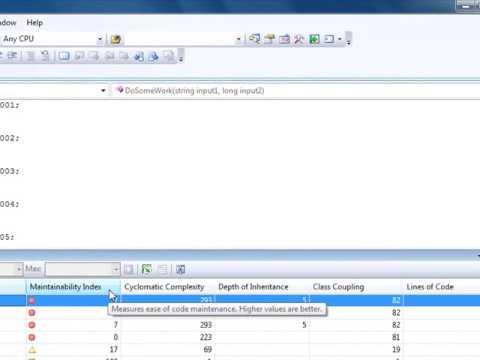 VSTS Dev Edition - Code Metrics Demo