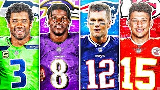 BEST NFL PLAYER FROM EACH JERSEY NUMBER