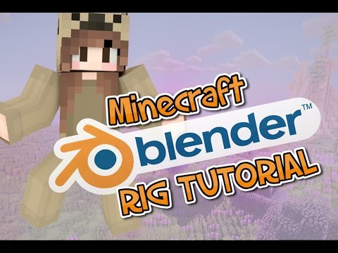 EASY Blender Minecraft Renders [Windows Tutorial] 2016