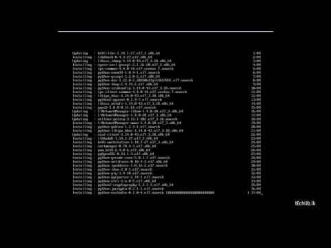 How to Install GNOME Desktop environment on CentOS 7