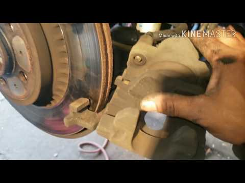 How to Replace Rear Brakes on Volvo XC-90