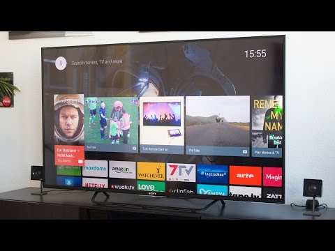 Sony X85 C 4K Android TV First Impressions (55x8505c)