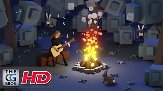 """CGI 3D Animated Short: """"Funky Low Poly Animation"""" - by Zacharias Reinhardt"""