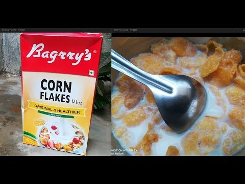 Bagrry Original and Healthier Corn Flakes Review