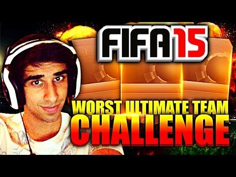 FIFA 15 - WORST FIFA TEAM CHALLENGE with Vikkstar123 (FIFA15)