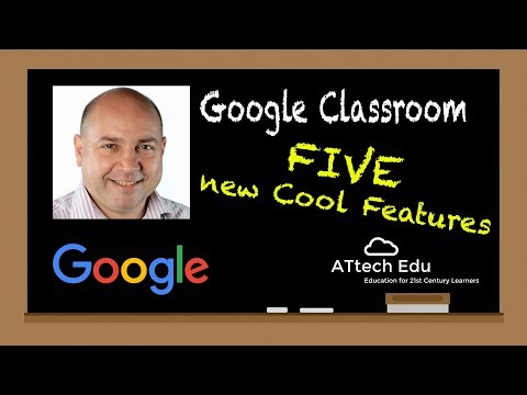 5 New Features of Google Classroom - Single Student View, Reorder Classes, Full Screen Class Code