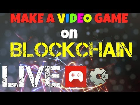 Make a VIDEO GAME on BLOCKCHAIN in 45 minutes! LIVE CODING  | Vlad Wulf blockchain programmer