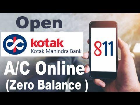 How To Open kotak Mahindra Bank Account Online