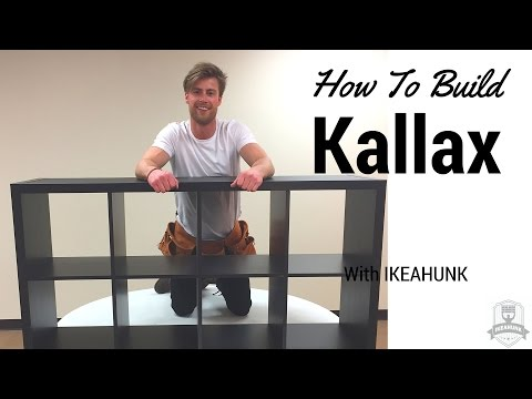How to Assemble IKEA Kallax Shelf