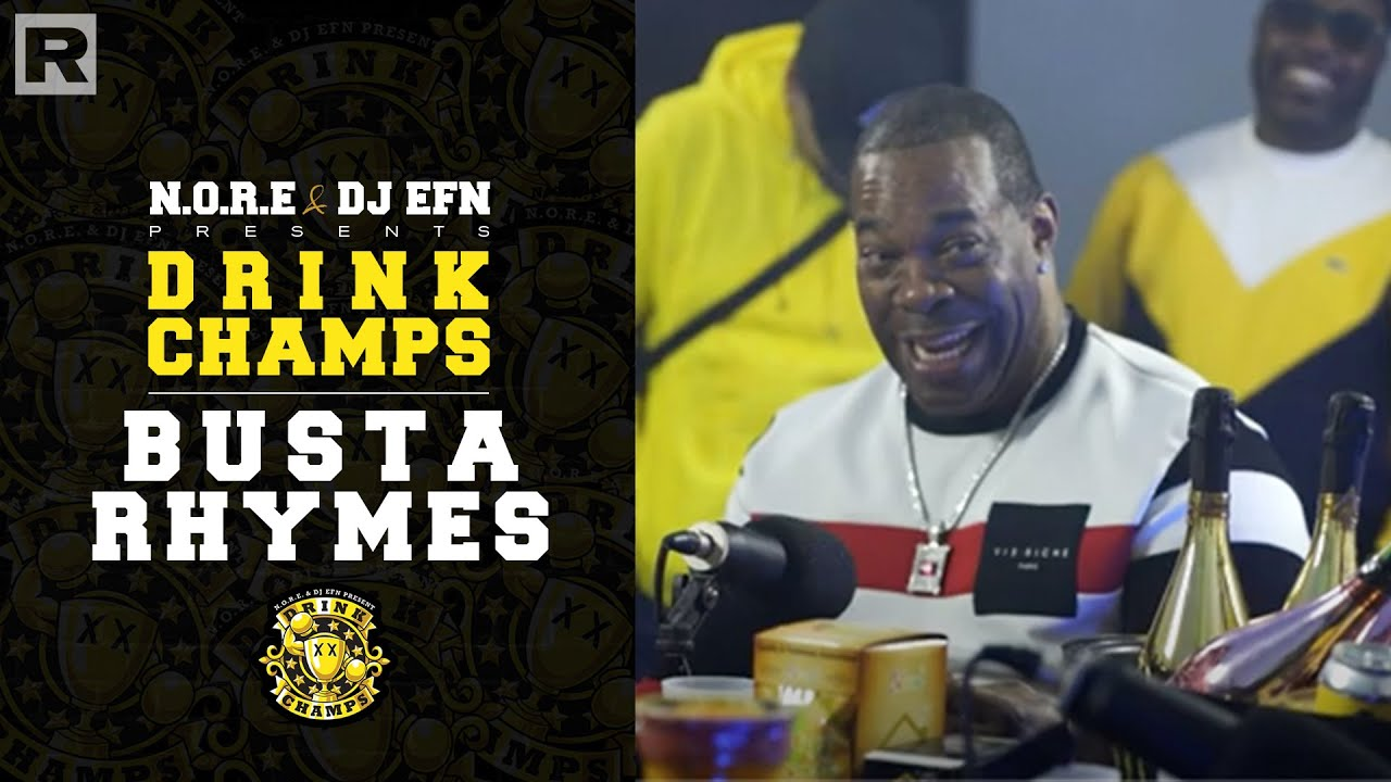Busta Rhymes On Working With Mariah Carey, Janet Jackson, His New Album & More   Drink Champs