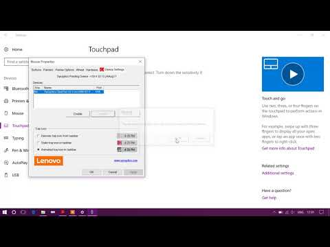 How to disable touchpad in windows 10 pro