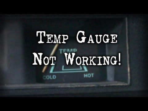Tech Tip - Temperature Gauge Not Working!
