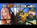 Generations React To Try Not To Look Away Challenge Biggest Fears Game
