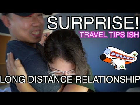 Surprising My DEAF Girlfriend From NYC to LA!