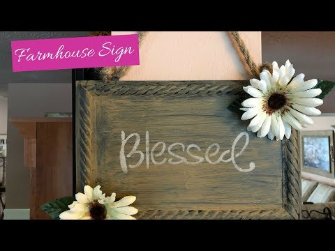 Farmhouse DIY Super Easy