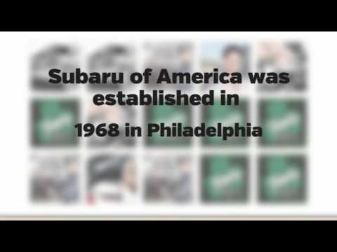 Subaru of America was established in 1968 in Philadelphia