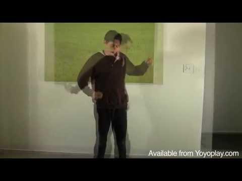 Yomega Brain Auto Return Yoyo Demo, with Yoyoing