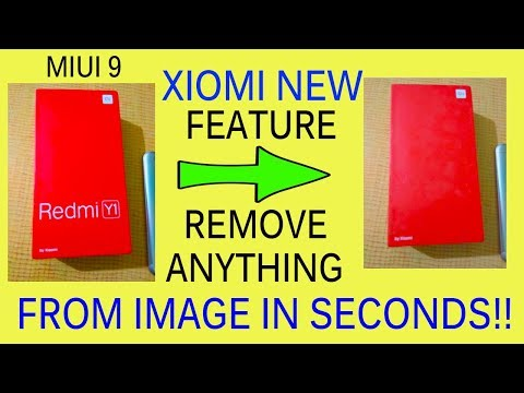 Xiaomi Latest Update | Remove Anything From Image | New Erase Feature (HINDI/URDU)