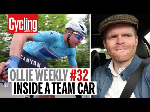 Inside a Team Car | Ollie Weekly #32 | Cycling Weekly