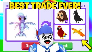 (OMG) I traded my MERHORSE And Saw What It Is WORTH In ADOPT ME!