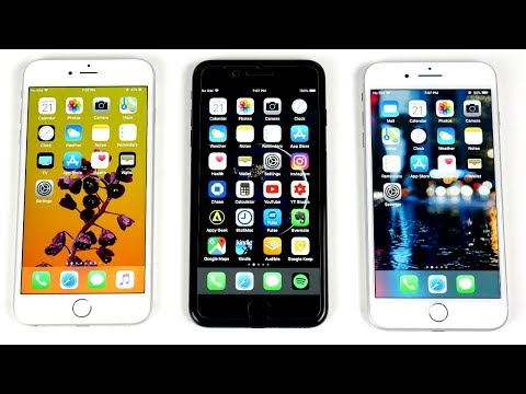 iPhone 6S Plus vs iPhone 7 Plus vs iPhone 8 Plus