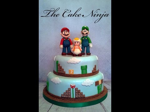 How to Make Mario Cake Topper Tutorial