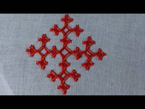 Hand embroidery designs. Hand embroidery stitches tutorial. kutch work motif.