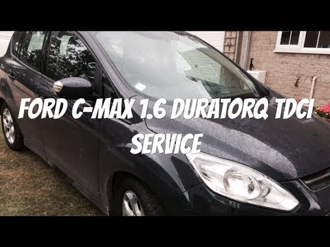 Uk Ford Focus Cmax Service inc Fuel Filter and service light reset