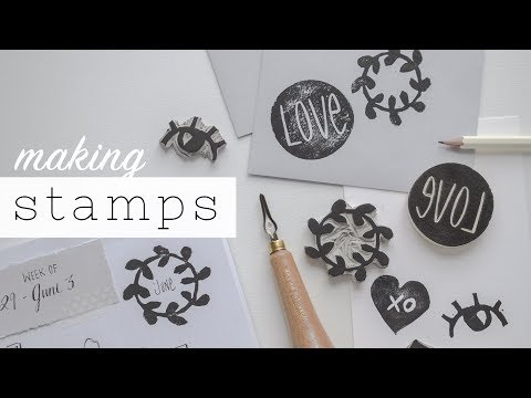 Stamping for Bullet Journaling