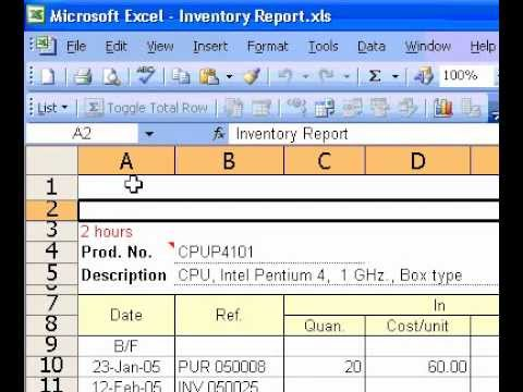Microsoft Office Excel 2003 Create custom headers and footers for printing