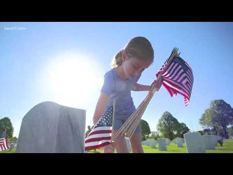 More than 5,000 volunteers place flags at Fort Snelling