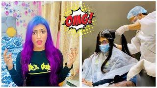 My New HAIR COLOUR   *OMG* I'M SURPRISED   Samreen Ali Vlogs